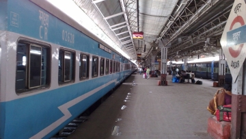 Representational image of a train. Jan Shatabdi will have its first run from Dadar to Madagaon.