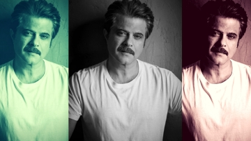 Anil  Kapoor's look in <i>Fanney Khan</i>.