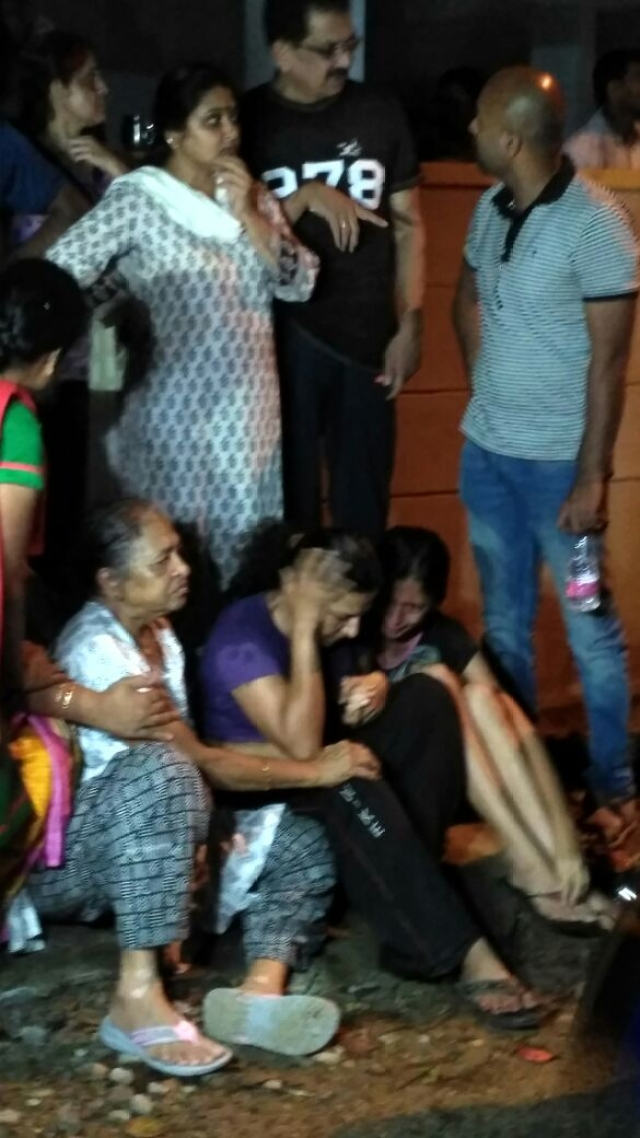 Family mebers mourns Gauri Lankesh's death.