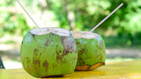 Coconut water is full of health benefits.