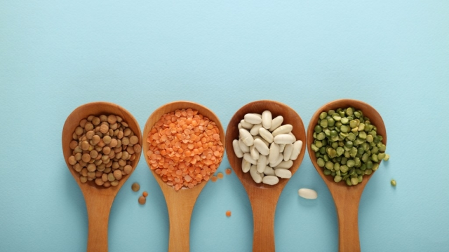 Lentils are healthy and rich in fibre.