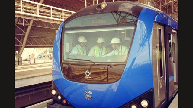 Chennai Metro's ridership has increased after the opening of Nehru Park to Chennai Central Stretch and Little Mount to AG-DMS stretch.