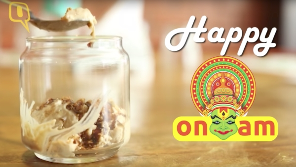 Onam special pradhaman that is cooled with nitrogen? Sign us up!