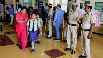Seven-year-old Pradyumn Thakur was murdered in Gurugram's Ryan International School on 8 September.