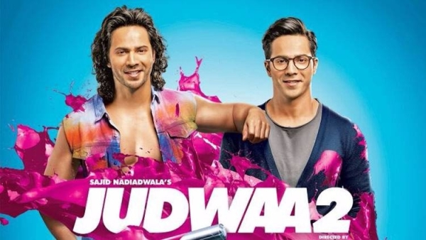 Early reviews of David and Varun Dhawan's <i>Judwaa 2 </i>are in.