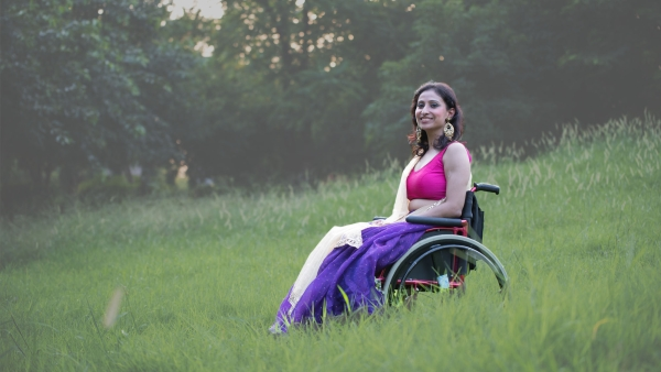 Priya Bhargava, Miss India Wheelchair 2015.