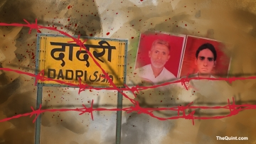 Akhlaq and his son, Danish, were dragged out of their house on the night of 28 September 2015 in Bisada, Dadri, and lynched on suspicion of consuming beef.