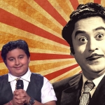 A yodelling tribute to Kishore Kumar.