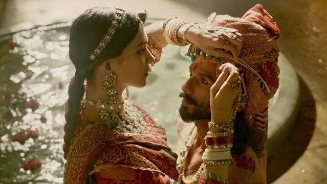 A still from <i>Padmavati.</i>