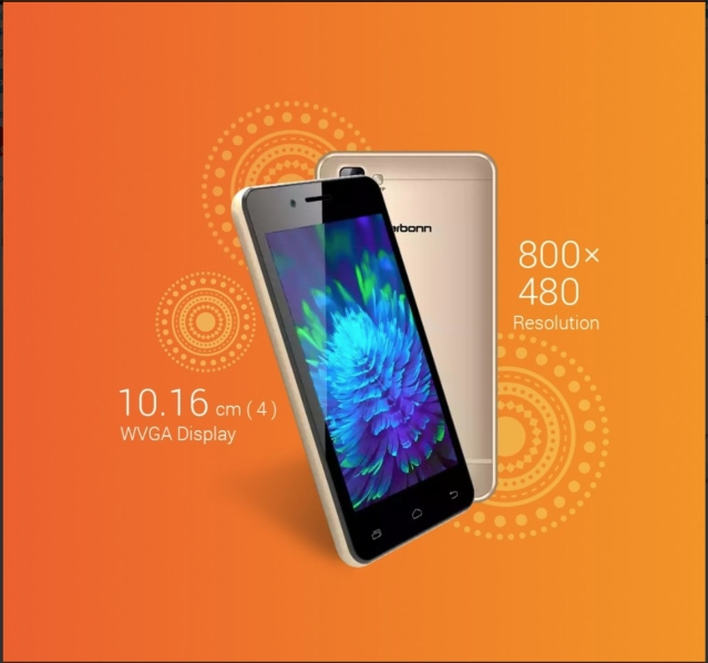 Karbonn A40 comes with a full touch display