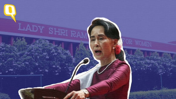 Aung San Suu Kyi has been criticised for being  silent on the Rohingya issue.