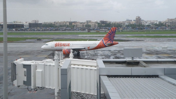 A file photo of an Air India aircraft outside the domestic departure terminal of the Mumbai airport. Image used for representational purposes.