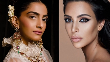 The business moguls: Sonam Kapoor and Kim Kardashian.