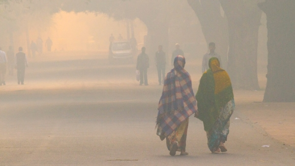 The findings showed adverse effects of bad air quality even while walking at a normal pace.