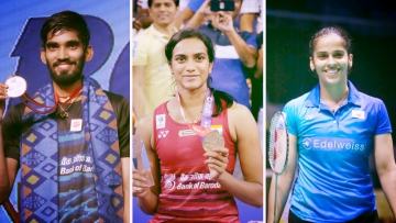 Kidambi Srikanth, PV Sindhu and Saina Nehwal have all been given a tough draw at the Badminton World Championships