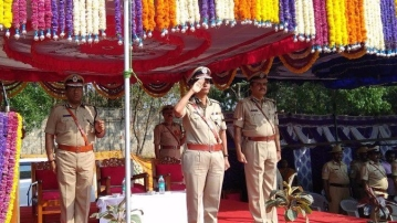 The woman police chief of Karnataka has served in the intelligence bureau for 23 years.