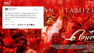 Congress attacks the BJP over the Mersal controversy