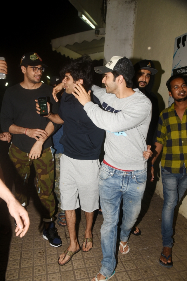 Sidharth, Varun, Arjun post Diwali madness.
