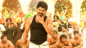 A still from Vijay's 'Mersal'