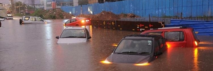 Officials Said It Was A Cloudburst Over The City As Some Areas Recorded 7 Cm To