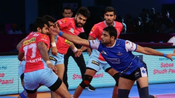 It was Jaipur Pink Panthers' Navneet Gautam's last match in Pro Kabaddi League and it ended on a sour note.