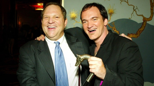 Harvey Weinstein and Quentin Tarantino.