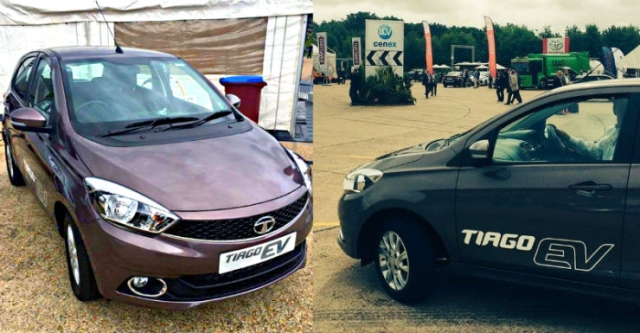 The Tata Tiago and Tigor EV will likely be shown at Auto Expo 2018.