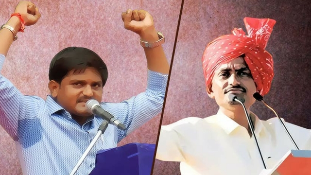 Are the interests of Patidar leader Hardik Patel and OBC leader Alpesh Thakor at odds with each other?