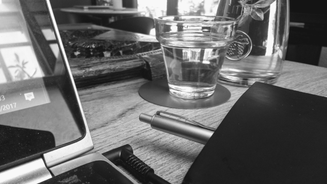 Gayatri writes often in coffee shops.