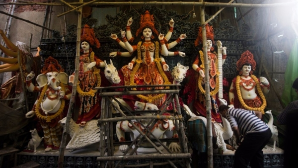 Take a look at the celebrations, farewells and last glimpses of Durga Pujo.