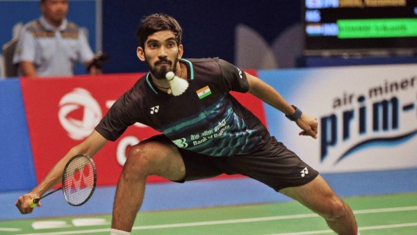 Kidambi Srikanth reached the China Open quarters.