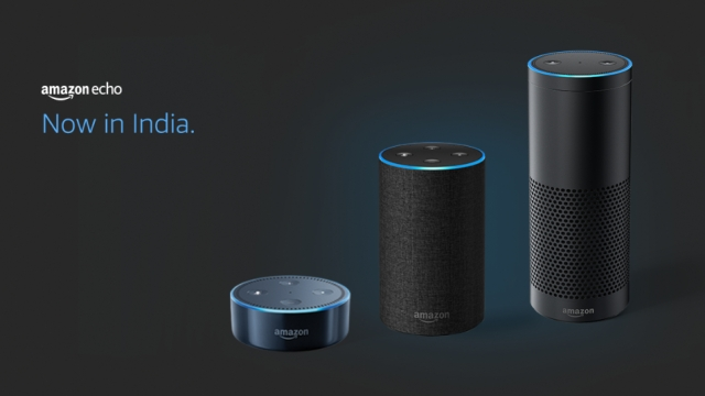 Amazon comes to India with three variants of Echo speakers.