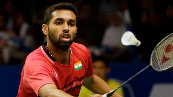 Unseeded Prannoy shocked second seed Sugiarto 21-14 21-12 in just 37 minutes.