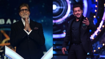Amitabh Bachchan steals the show over Salman Khan when it comes to TRPs.