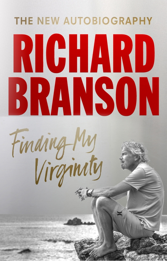A cover of Richard Branson's <i>Finding My Virginity</i>.