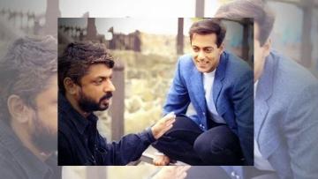 Salman Khan with Sanjay Leela Bhansali.