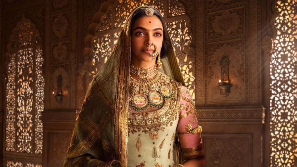 Deepika Padukone as Rani Padmini<i> in Padmaavat.</i>