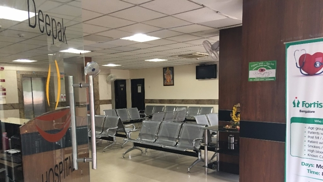 Private hospitals wore a deserted look in Bengaluru.