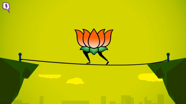 BJP heads towards a tough battle on its home turf in Gujarat, Adivasi and Dalit vote bank might rescue the party.