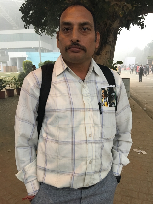 Surendra Gehlot, 44, says those older than 40 have no opportunities at the job mela.