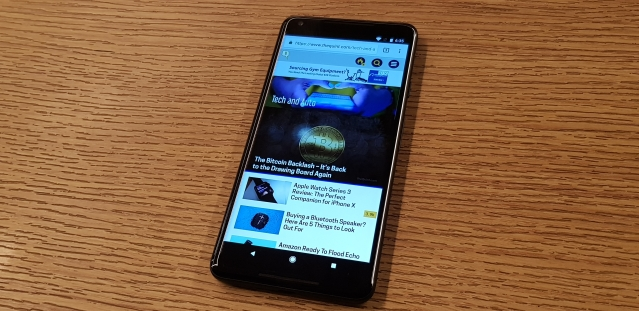 The 6-inch P-OLED display on the Pixel 2 XL needs some work.