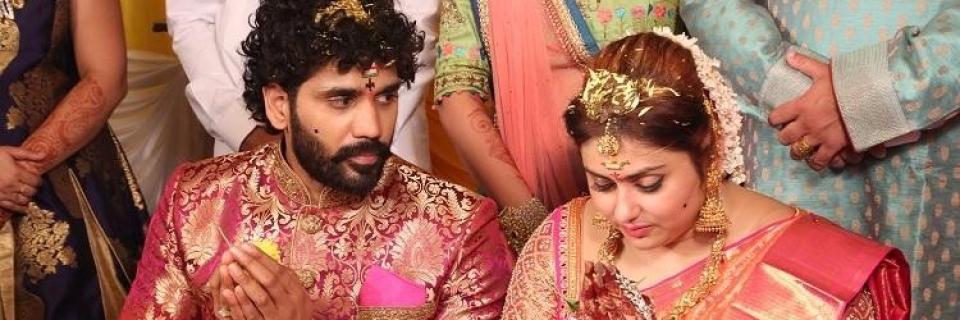 Actress namitha marriage pics namitha ties the knot with producer veerandra chowdhary thecheapjerseys Choice Image