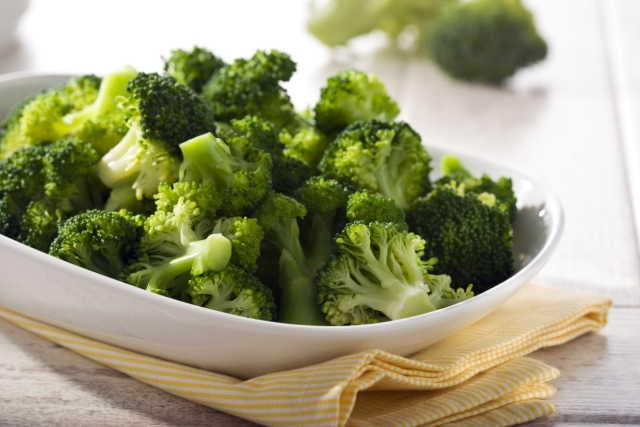 Have Broccoli to boost your immunity.