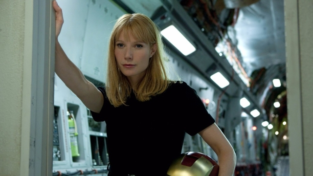 Gwyneth Paltrow as Pepper Pots.