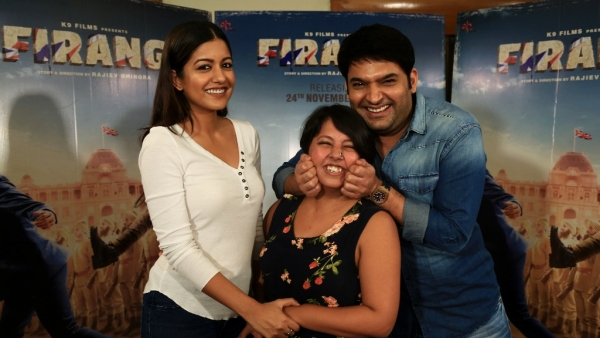 Kapil Sharma and Ishita Dutta in conversation with The Quint.