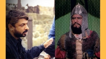 Sanjay Leela Bhansali worked on <i>Bharat Ek Khoj </i>featuring Om Puri as Alauddin Khilji.