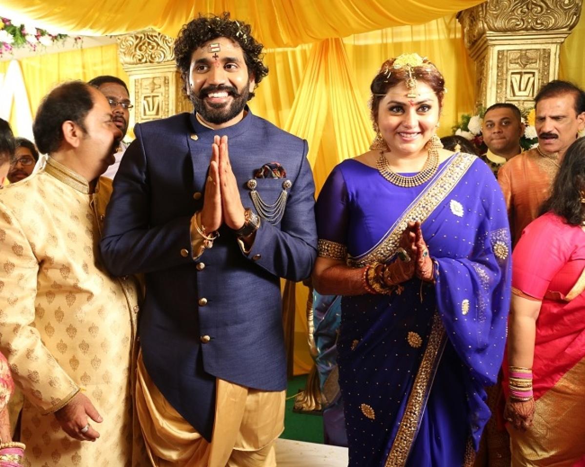 Actress namitha marriage pics namitha recently was a part of ibigg boss altavistaventures Image collections