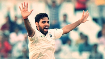 File photo of Bhuvneshwar Kumar.