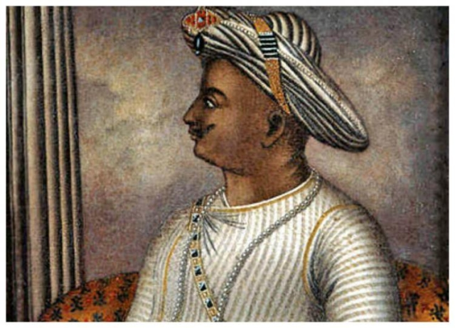 Tipu Sultan, also known as the Tiger of Mysore.