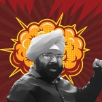 Paramjit Singh Pamma is popularly known as India's angriest man.